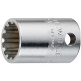 2011016 Stahlwille 45ASP-16 3/8 Drive Spline Scokets 1/2