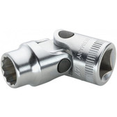 2040015 Stahlwille 47-15  3/8 Drive Univ Sockets 15mm