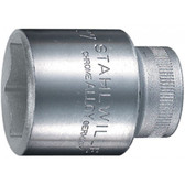 3030017 Stahlwille 52-17 1/2 Drive 6 Points Sockets 17mm
