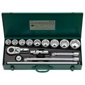 96050103 Stahlwille 55/9/6N 3/4 Drive Socket Set