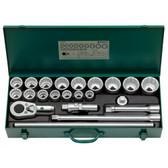 96054103 Stahlwille 55A/16/6 3/4 Drive Socket Set