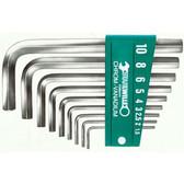 96435501 Stahlwille 10760ACV/10P SAE Hexagon Key Wrench Set