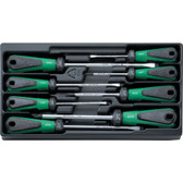96838135 Stahlwille 8 Piece 3K Screwdriver Set In Tray