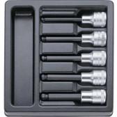 96838165 Stahlwille 54KK/5 1/2 Drive Ball End Hexagon Set