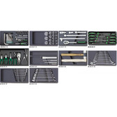 98830001 Stahlwille 806/10 98 Piece Basic Tool Set