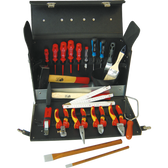 NWS 321-23 Electricans Tool Case 24 Pieces 430 mm