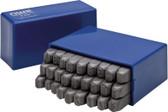 NWS 920-3 Set of Letter Steel Stamps
