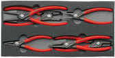 "00 20 01 V02 Knipex CIRCLIP ""SNAP-RING"" PLIERS SET IN FOAM TRAY"