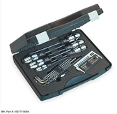 05071118001 WERA KRAFTFORM STAINLESS TOOL KIT