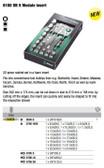 05134058002 WERA Zyklop 3/8 Drive 8100 SB 5 Foam Drawer Insert Set