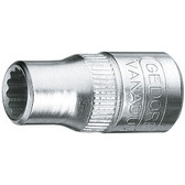 "Gedore 1649582 Socket 1/4"" 6 mm D 20 6"