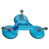 Gedore 6390790 Suction cup lifter with 3 cups, d 120 mm 121-3