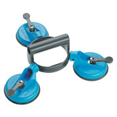 Gedore 6390870 Suction cup lifter with 3 cups, d 120 mm 121 G-3