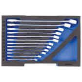 Gedore 2835908 Combination spanner set, in 1/2 L-BOXX 136 Module 1100 CT1-7