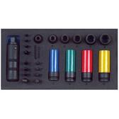 Gedore 2322471 CT tool module empty EI-1500 CT1-K1900 L