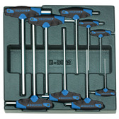 Gedore 1543474 Hexagon socket key set in 2/3 ES tool module 1500 ES-DT 42