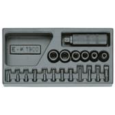 Gedore 1402722 ES tool module empty 1500 E-K 1900 L