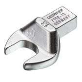 Gedore 7689360 Rectangular open end fitting SE 9x12, 14 mm 7112-14