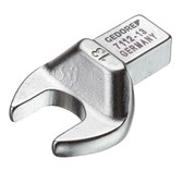 Gedore 7689600 Rectangular open end fitting SE 9x12, 17 mm 7112-17