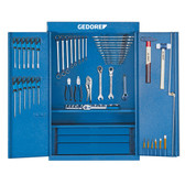 Gedore 6613330 Tool cabinet with tool assortment S 1400 G + Z 1400 GZ