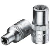 "Gedore 6187800 Socket 1/4"" TORX E7 TX 20 E7"