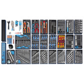 Gedore 2657716 Tool assortment with tool trolley 1500 ES-03 2004 0810