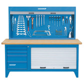 Gedore 6617910 Tool cabinet with blind, empty R 1500 L