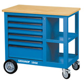 Gedore 6620620 Mobile workbench with vice 1502 S