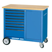 Gedore 1814923 Mobile workbench with 9 drawers 1504 0810