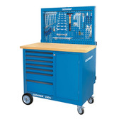 Gedore 6624370 Workbench with rear panel + vice BR 1504 0511 S