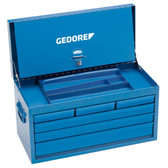 Gedore 6614300 Tool chest, empty 364x663x308 mm 1410 L