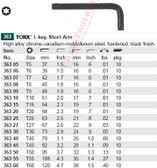 WIHA 36330 Torx L-Key T30 X 73mm