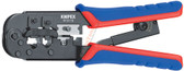 9751  10 Knipex Crimping Pliers for Western Plugs