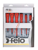 50176 FELO Slotted & Phillips 6 Pc Insulated Screwdriver Set