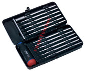 52041 FELO Set 12 Torque Screwdrivers with Precise Adjustment