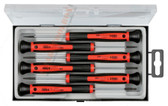31844 FELO Slotted & Phillips 6 Pc Precision Screwdriver Set