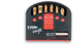 FELO 51389 Swift Box 6 pc TiN Bits and Magnetholder - T10-T40