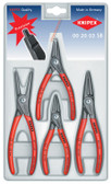 0020 03SB  Knipex Circlip Plier 4 pc Set