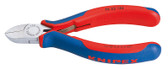 76 22 125 Knipex 5 inch ELECTRONICS DIA. CUTTER - COMFORT GRIP