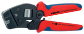 9753  8 Knipex Self-Adjusting Crimping Pliers