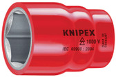 "98 47 13/16""  Knipex Hexagon Socket - 1/2"" Drive"