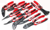 NWS 9 Piece Set of Popular Pliers with Finish 69