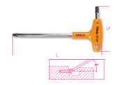 BETA 000960687 96 T-BP4-BALL HEAD OFFSET HEX. KEY WR 96 T-BP4