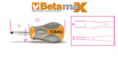 BETA 012900106 1290 N 6,5X30-SCREW. SLOTTED EXTRA SHORT 1290 N 6,5X30