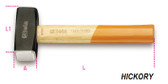 BETA 013800220 1380 2000-LUMP HAMMERS WOODEN SHAFTS 1380 2000