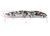 BETA 017780099 1778 CM-CAMOUFLAGE FOLDAWAY KNIFE 1778 CM