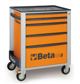 BETA 024002051 C24S 5/O-MOBILE ROLLER CAB 5 DRAW.ORANGE C24S 5/O