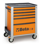 BETA 024002061 C24S 6/O-MOBILE ROLLER CAB 6 DRAW.ORANGE C24S 6/O