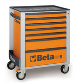 BETA 024002071 C24S 7/O-MOBILE ROLLER CAB 7 DRAW.ORANGE C24S 7/O