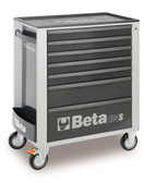 BETA 024002072 C24S 7/G-MOBILE ROLLER CAB 7 DRAW. GREY C24S 7/G